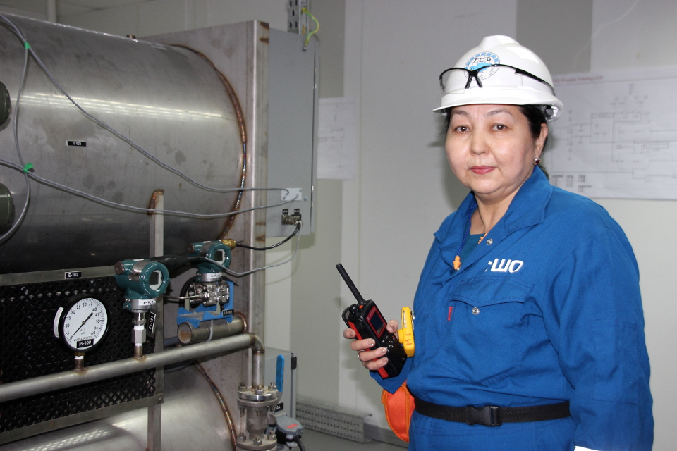 Gulzada Avkataeva, engineer. Photo: Andrey Nemchenko