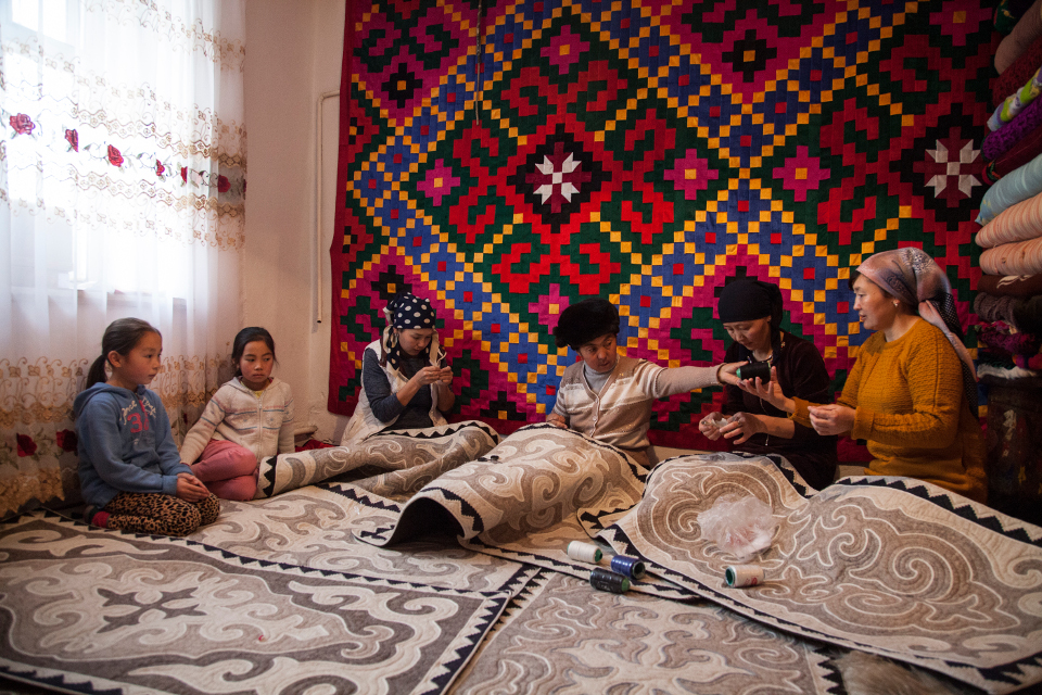 Kyrgyzstan, 2016. Photo: UN Women Europe and Central Asia/Rena Effendi