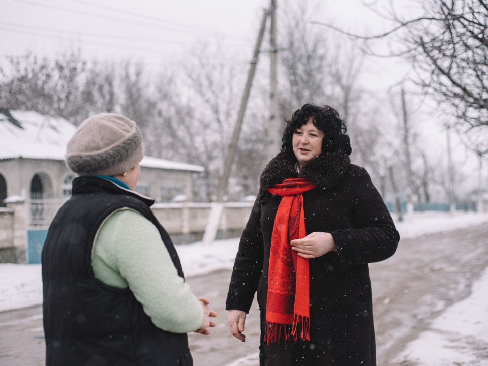 Photo Essay: Moldovan woman councillor challenges gender stereotypes in education and opens up new opportunities for girls and women
