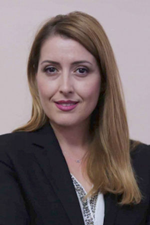 Ogerta Manastirliu, Minister of Health and Social Protection (Photo: Bevis Fusha)