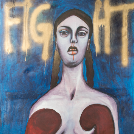 Fight. Artist: Ina RIEGLER
