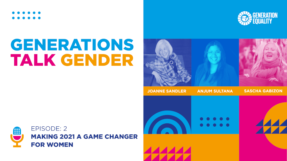 Making 2021 a game changer for women