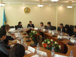 Integration of gender perspectives to prevent and respond to emergencies was discussed in the Round table meeting in Tajikistan