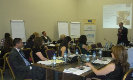 UN Women builds the capacity of decision makers to integrate gender in the security sector of Georgia