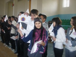 From Peace in the Home to Peace in the World – the 16 Days without Violence Campaign held in Uzbekistan