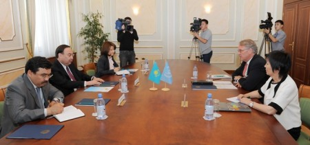 UN Assistant Secretary General and UN Women Deputy Executive Director John Hendra visited two major cities of Kazakhstan - Almaty and Astana