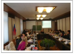 Seminar on Gender-Responsive Budgeting for civil servants and GRB trainers held at the Regional GRB Center of Excellence in Moscow