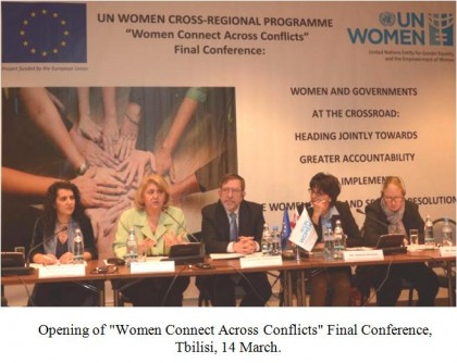 Women and Governments Heading Towards Greater Accountability in Implementing Women, Peace and Security Resolutions