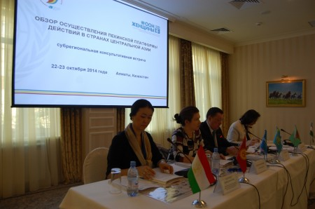 Central Asia Sub-Regional Consultation on Beijing+20