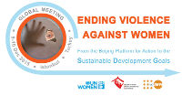 High-level global UN meeting to focus on ending violence against women