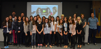 Bosnian girls hone IT skills at web coding camp