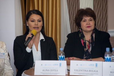 Alina Zotea, one of Moldova's youngest women MPs and an active Law 71 supporter. Photo: UN Women