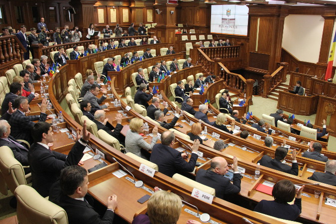 The Parliament of Moldova recently adopted a new law introduces gender quotas for party list candidates and cabinet nominees. Photo: curentul.md