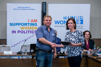 Moldova media pledges to promote gender equality