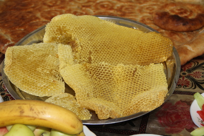 honeycomb is very popular in Rasht valley Photo: UN Women/Aijamal Duishebaeva