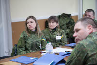 Police officers in Ukraine trained to be responsive to gender-based violence