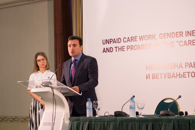 said Zoran Zaev, the Prime Minister of FYR Macedonia. Photo: UN Women/Mirjana Nedeva
