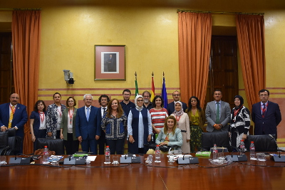 Parliamentarians of EOC met with their peers in Andalusia Parliament Photo: UN Women/Ebru Demirel