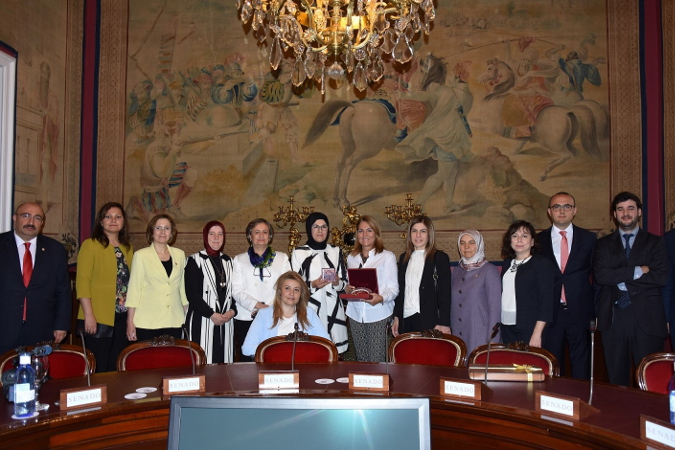 UN Women and EOC's visit to Women's Institute of Spanish Health, Social Services and Equality Ministry. Photo: UN Women/Ebru Demirel