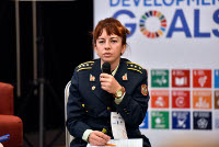 "In the words of Sanja Pejović: ""Applying a gender perspective contributes to the success of military operations"""