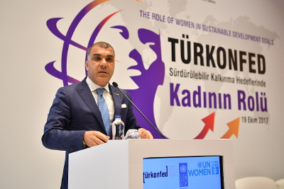 Tarkan Kadooglu, Chairman of the Board of Directors TURKONFED