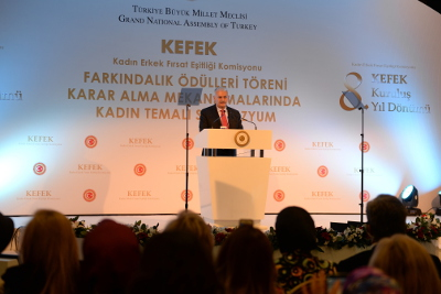 Binali Yıldırım, Prime Minister of Turkey. Photo: UN Women