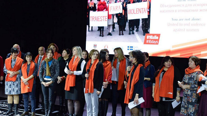 Women Survivors of Violence Demand Immediate Actions to End Violence Against Women and Girls in Moldova