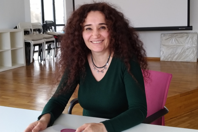 Ülker Şener, Head of the Steering Committee for the Women's Studies Association. Photo: Courtesy of WSA.