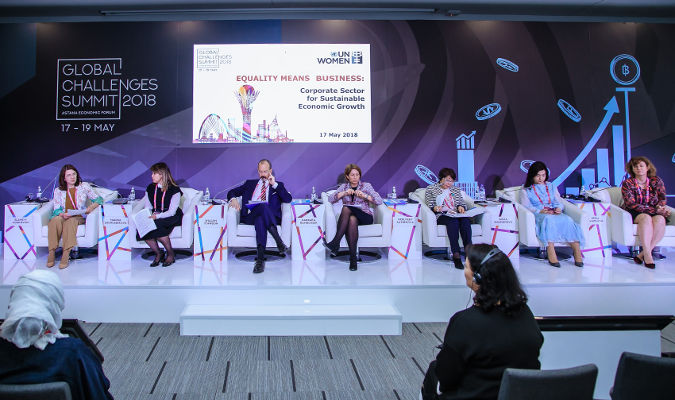 Astana Economic Forum 2018. Photo: UN Women Kazakhstan/Batyr Aubakirov