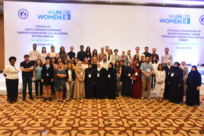 Participants of the launch. Photo: UN Women
