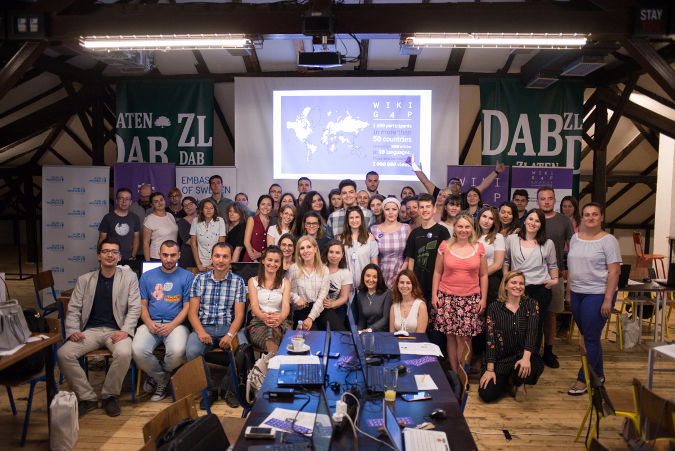 WikiGap initiative in Skopje brings great turnout and success in raising awareness for gender equality