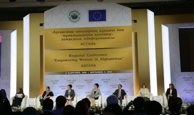 Boosting regional cooperation for the empowerment of Afghan women