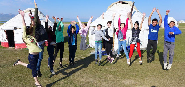 Kyrgyz and Tajik youth work together for peace and gender equality