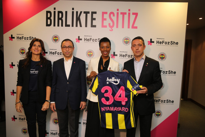 Press Release: Fenerbahçe Sports Club  levels the playing field for  gender equality