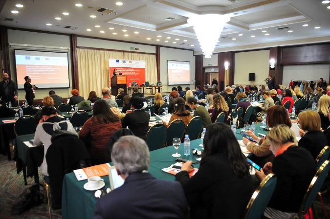 Regional forum: Promoting the implementation of the Istanbul Convention in the Western Balkans and Turkey. Photo: UN Women/Darko Andonovski