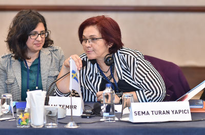 Sema Turan Yapıcı, an active member of civil society organizations and her party in Adana. Photo: UN Women/Ebru Ozdayı Demirel