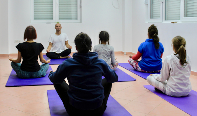 Yoga and self-defence to help cope with gender-based violence in Montenegro