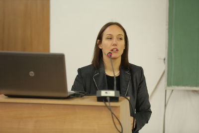 Prof. Ana Kotevska from the Faculty of Agricultural Sciences and Food. Photo: