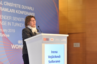 Irena Vojáčková-Sollorano, UN Resident Coordinator to Turkey. Photo: UN Women