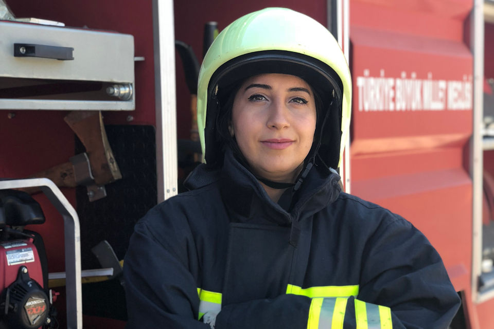 "From Where I Stand: ""While firefighting is traditionally known as a men's occupation, women can easily do it"""