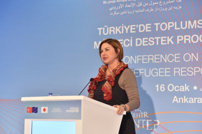 Simona Gatti, Minister Counsellor, Delegation of the European Union to Turkey