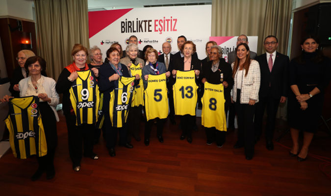 Fenerbahçe Sports Club in Turkey features pioneer women athletes on International Women's Day