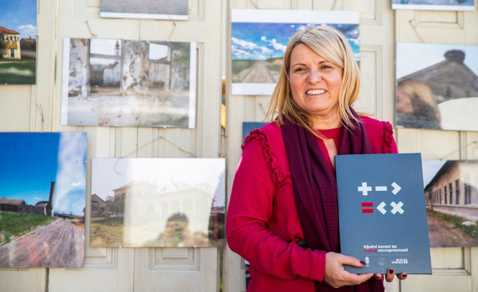 """Ljiljana Gusic, founder of """"Udahni Zivot"""" women's association has receieved a grant from UN Women within the EU-funded project """"Support to priority actions for gender equality"""" aimed to increase rural women's access to resources, self-employment and employment in value added economic activities including organic agriculture."""