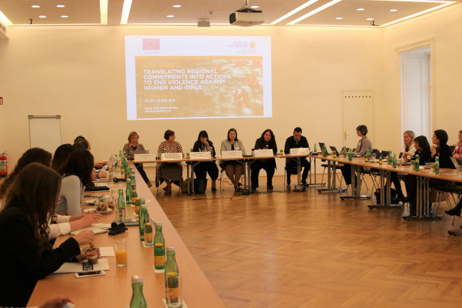 High-level meeting urges effective enforcement of the Istanbul Convention to eradicate violence against women
