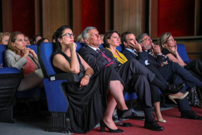 "The screening of the documentary ""The Prosecutors."" Photo: UN Women"