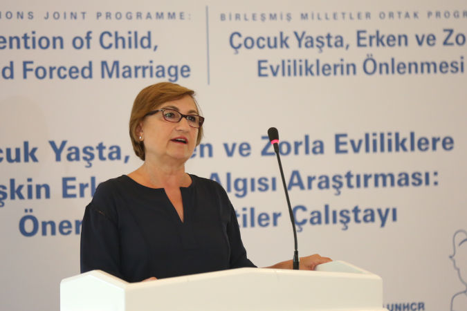 UN Women workshops in Turkey introduce participants to upcoming perception research on men's attitudes and beliefs towards early and forced marriage