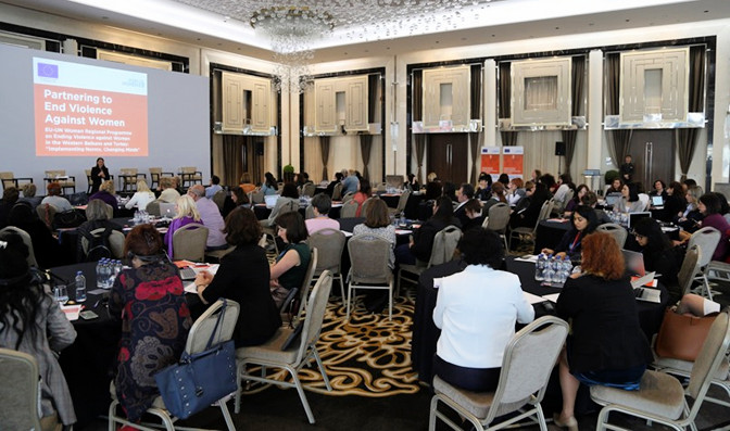 Women's organizations review accomplishments of the regional programme on ending violence against women in the Western Balkans and Turkey