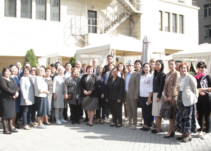 The National Statistical Committee, line ministries, civil society activists and academics in Kyrgyzstan joined a new assessment exercise launched by UN Women and PARIS 21. Photo: UN Women/Saierakhon Gapurova
