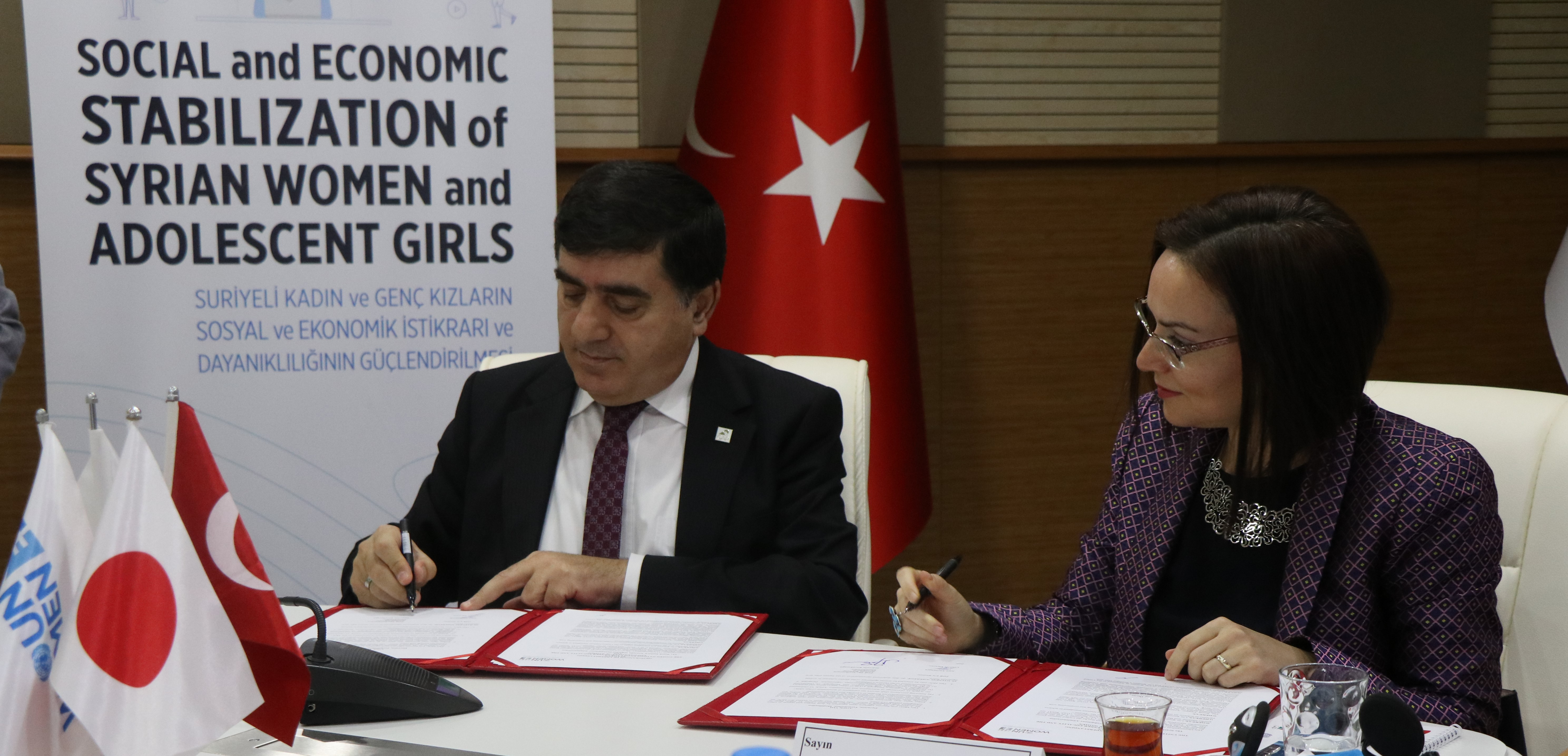 Syrian and Turkish women get social and economic boost in southeastern Turkey