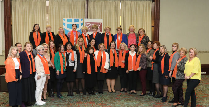 The Regional Women's Lobby in Southeast Europe (RWLSEE) and UN Women held an International Conference in Skopje, aimed at supporting peace-building efforts in Kosovo. Photo:
